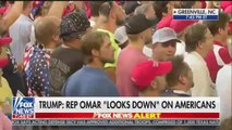 Donald Trump supporters chant 'send her home' about Ilham Omar