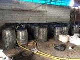 Polis, 27 varilin içinde 5 bin 400 litre sahte içki ele geçirdi