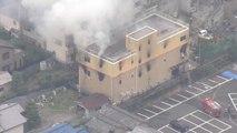 Japon : au moins 33 morts dans l'incendie d'un studio d'animation