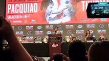 Pacquiao's final remarks at final presser