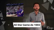2 All Star Game d'EXCEPTION avec Michael Jordan & Magic Johnson