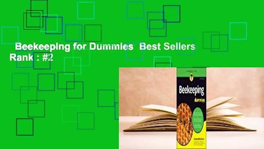 Beekeeping for Dummies  Best Sellers Rank : #2