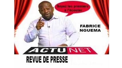 Revue de presse FABRICE NGUEMA