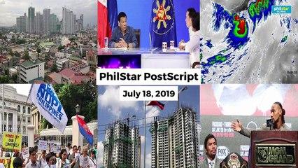 Postscript July 18, 2019