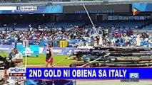 2nd gold ni Obiena sa Italy