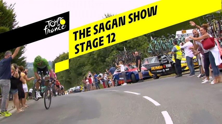 Sagan fait le show / The Sagan show - Étape 12 / Stage 12 - Tour de France 2019