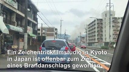 Tote bei mutmaßlichem Brandanschlag auf Filmstudio in Japan