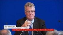 """""""C'est un système plus juste"""", assure Jean-Paul Delevoye en présentant son rapport sur les retraites"""