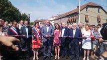Le nouveau pont de Sarralbe inauguré