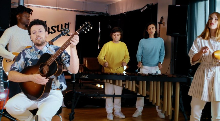 "Metronomy joue le tube ""Salted Caramel Ice Cream"" en live session acoustique"