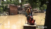 Widespread flooding in India leaving residents in despair and hungry
