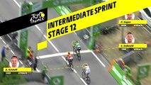 Sprint intermédiaire / Intermediate sprint - Étape 12 / Stage 12 - Tour de France 2019