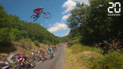 Il saute au dessus du Tour de France ! Le Rewind du Jeudi 18 Juillet 2019