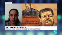 """El Chapo"" verdict : mexican drug lord sentenced to life in US prison"