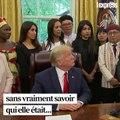 """""""Vous avez eu le prix Nobel ?"""": drôle de rencontre entre Trump et Nadia Murad"""