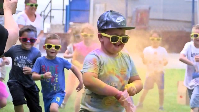 Thorpe Primary School's Creative Colour Run!