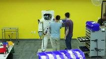 Un astronaute Lego géant fabriqué en hommage aux 50 ans de la mission Apollo 11