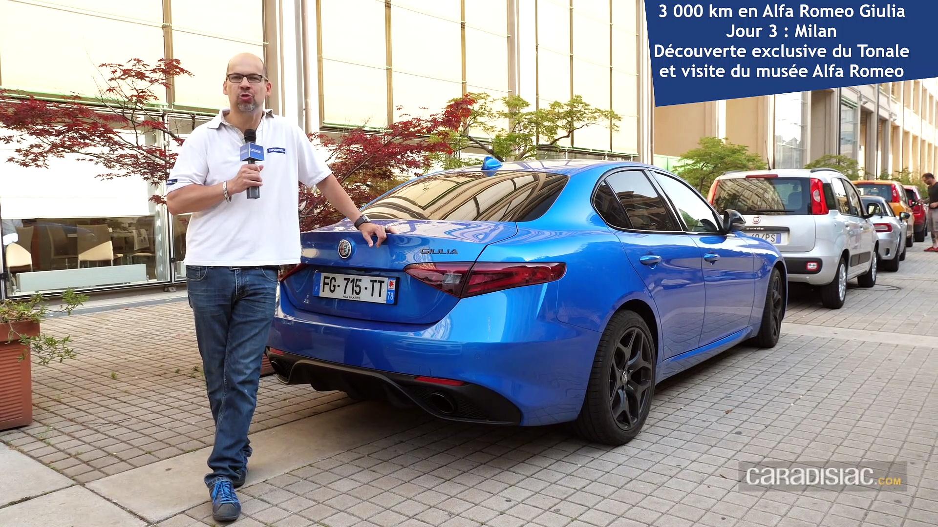 Essai longue durée : 3 000 km en Alfa Romeo Giulia : bella machina