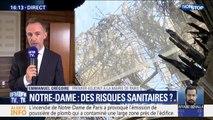 """Emmanuel Grégoire (mairie de Paris): """"Il n'y a aucun risque sanitaire"""" concernant la pollution au plomb de Notre-Dame"""