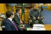 RTG/Le premier Ministre s'est entrent avec le Directeur exécutif de l'Ong The Giants Club