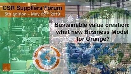 Meilleurs moments du forum fournisseurs RSE - 2019