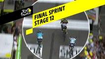 Sprint final / Final Sprint - Étape 12 / Stage 12 - Tour de France 2019