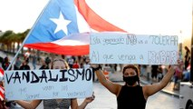 'Ricky resign!' Thousands in Puerto Rico demand governor goes