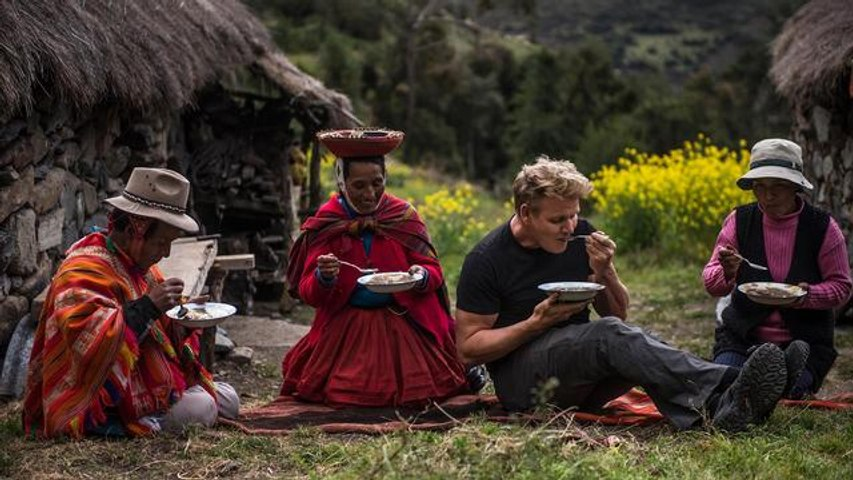 Watch Gordon Ramsay Explore Peru's Sacred Valley of the Incas