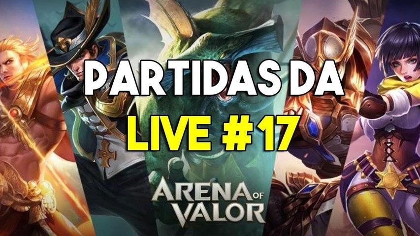 Partidas da Live -17 - Violet - Arena of Valor