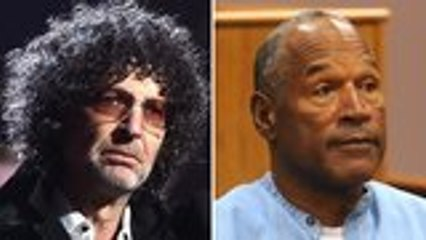 Howard Stern Believes Twitter Should Ban O.J. Simpson | THR News