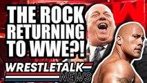 Dwayne Johnson RETURNING To WWE?! Eric Bischoff WWE Update!   WrestleTalk News July 2019