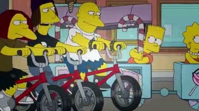 The Simpsons Season 24 Episode 22 Dangers on a Train