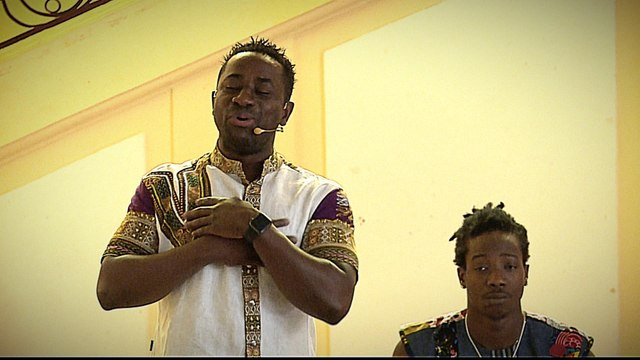 From Ivory Coast to France, refugee tells story in music