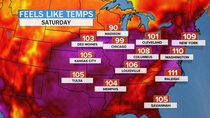 Heat wave brings triple-digit temperatures