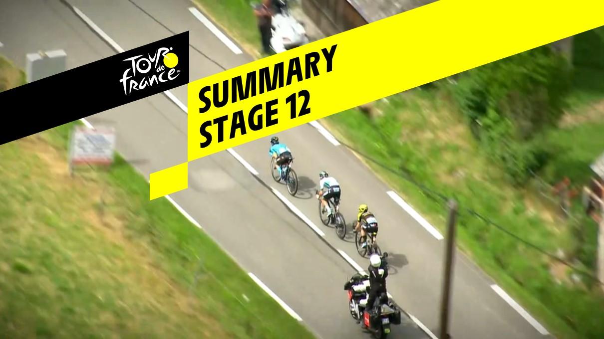 Summary - Stage 12 - Tour de France 2019