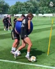 Les exercices du Real Madrid pour améliorer le collectif