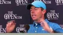 (Subtitled) 'Disappointed' McIlory reflects on 8-over-par at The Open