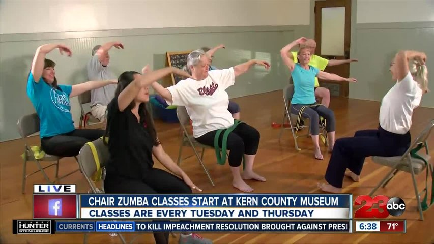 New Chair Yoga Classes at Kern County Museum