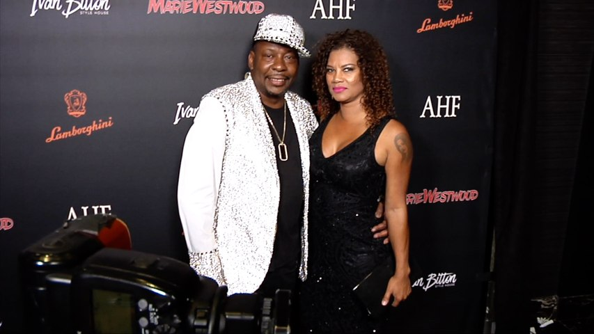 Bobby Brown and Alicia Etheredge 2019 Marie Westwood Magazine Summer Launch Party Red Carpet