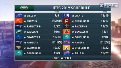 Boomer and Gio: Jets need to start off strong this season