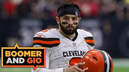 Boomer and Gio: Baker Mayfield makes unfounded comments about Giants fans