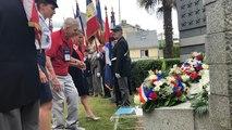 Libération de Saint-Lô : hommage au major Howie