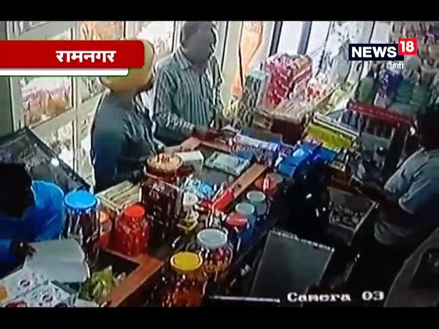 फर्जी खाद्य अधिकारी ने कई दुकानदारों को ठगा, CCTV में कैद