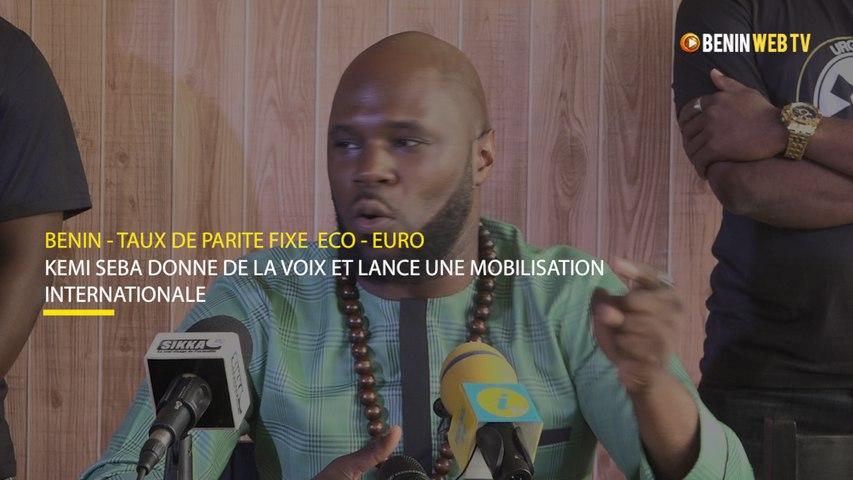 Taux de parité fixe ECO-EURO : Kemi Seba lance une mobilisation internationale