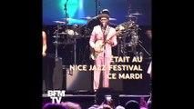 """On a posé 5 questions à Nile Rodgers du groupe """"Chic"""" lors du Nice Jazz Festival"""