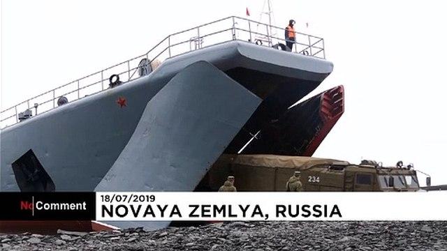 Raketenübungen der russischen Marine