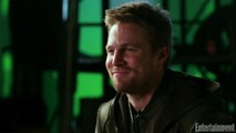Arrowverse Superheroes Say Goodbye to Stephen Amell