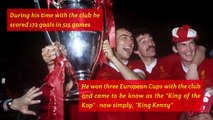 Kenny Dalglish - Career in Numbers