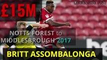 Biggest Yorkshire transfers