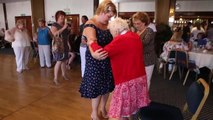100th birthday: You can't stop Marge hitting the dance floor